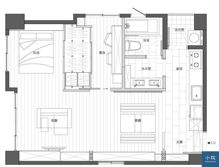 內湖王宅-平面圖-一般模式