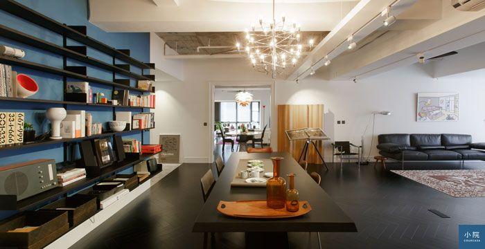 台中麥可家-21-餐廳透視起居