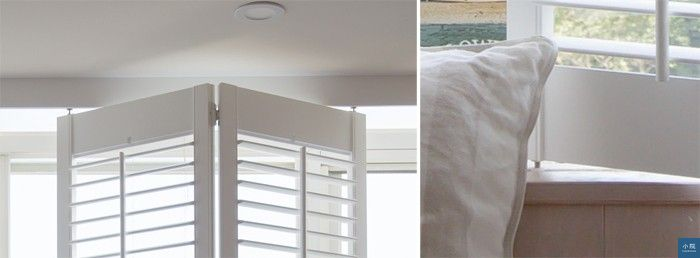 上軌道洗在木角料內,下軌道在窗沿枱面。
