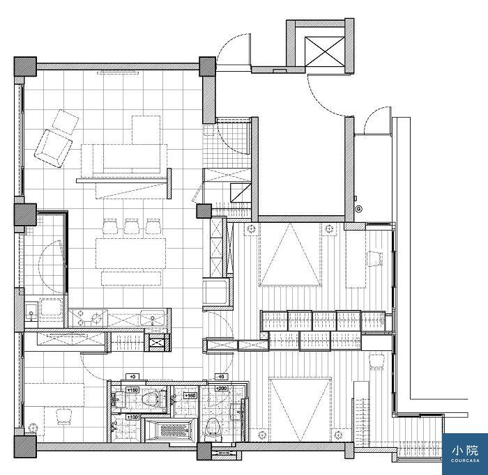 安和路陳宅設計平面圖,睎耆制作所