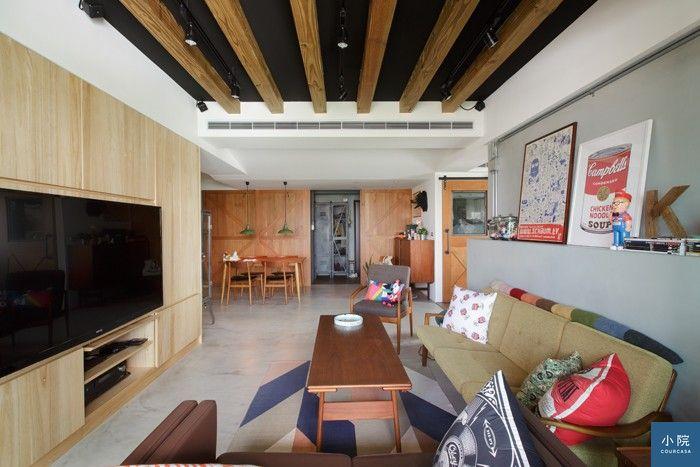 圖說:Enzo家客廳地毯,是在URBAN OUTFITTERS網站買的,定價89美元,約2800台幣。