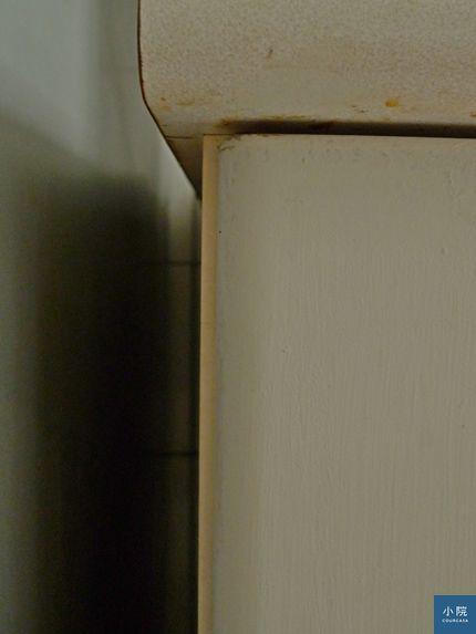 蓋3分,看得到後方一半側板。)