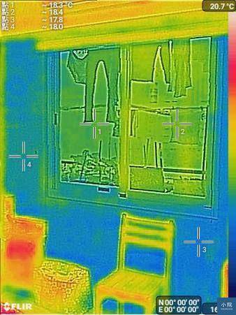 隔熱,熱顯影像