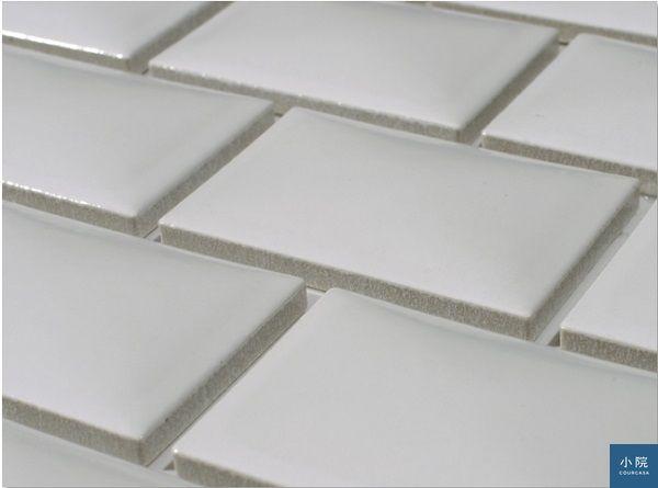 表面有立體弧度,整體貼起來會比平面磚華麗一些