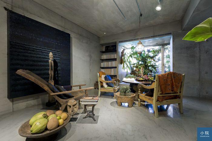 台北連宅,熱帶系家居的悠緩快活