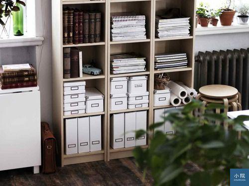 買層格40公分寬的Billy書櫃,就算放書,層板也不易下陷。