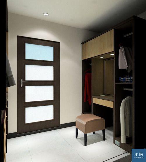 3D圖面,綠的傢俱,系統櫃