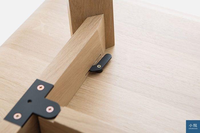 桌腳組裝設計