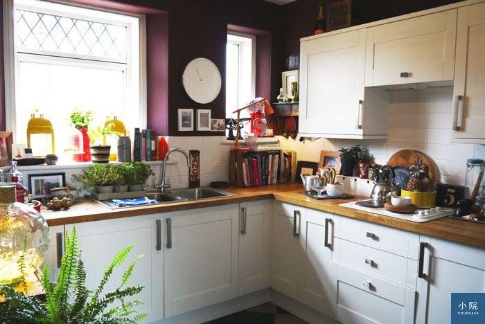 大胆性��f�x�_苏格兰公寓,大胆使用深沉蓝紫色