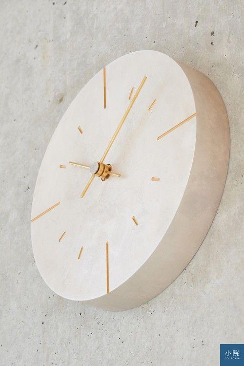 日本品牌Lemons,斑斕小壁鐘。圖片提供:光合機電