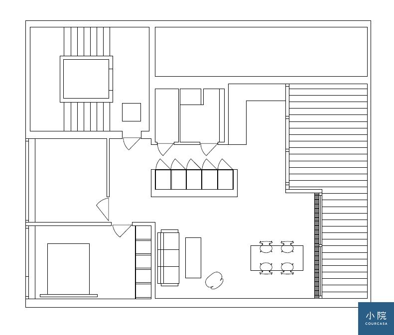 Copenhagen Penthouse平面圖