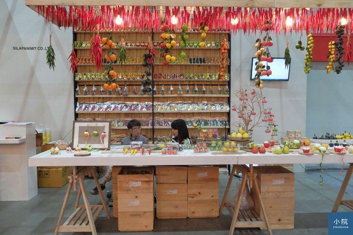 這不是水果攤哦,而是蠟燭、肥皂等香氛小物的專賣店。  攝影:大米