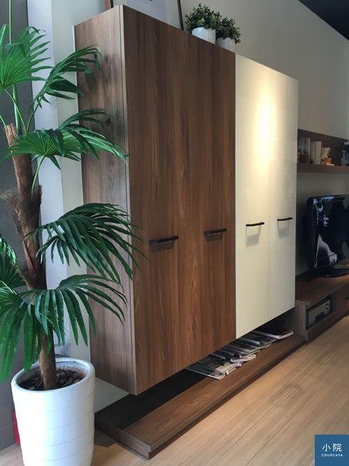 綠的家具,對開門片,系統櫃