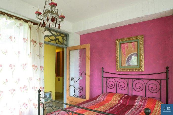 只塗一面牆,就能帶出空間的個性。 集集設計提供