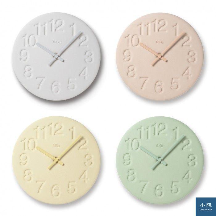 珪藻土時鐘(LC11-08),定價3430元,小院專案價2744元。