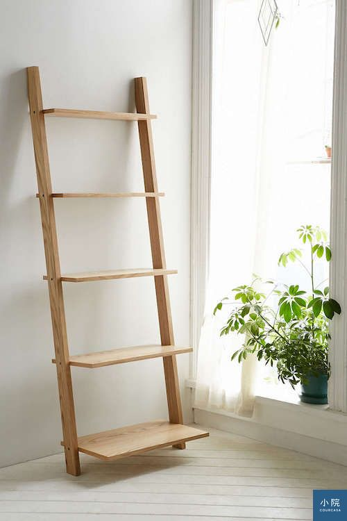 Leaning Bookcase1