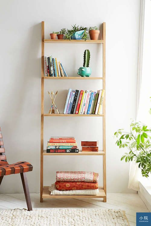 Leaning Bookcase2