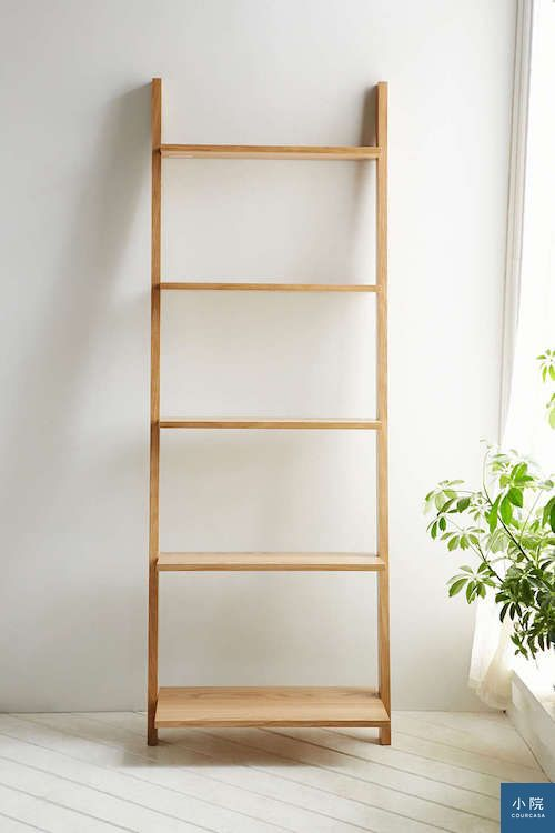 Leaning Bookcase3