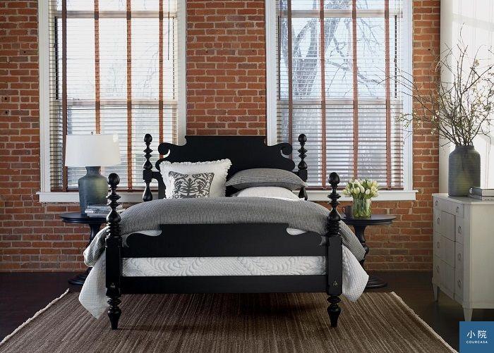 圖片來源:Ethan Allen。此為經典商品之一的「撲克牌床」Quincy Bed