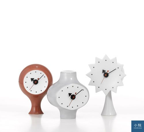 Vitra-Ceramic-Clocks-系列桌鐘(左一、中)原價11100特價7326