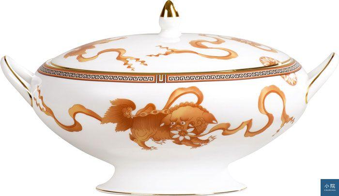 Wedgwood皇朝之獅蓋碗-原價26000現對折