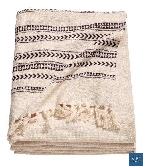 Jacquard-weave bedspread床單,49.99英鎊