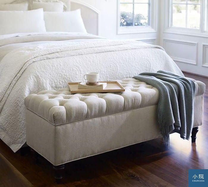 Lorraine Tufted Storage Bench: Ǿ�國PB,LORRAINE釘釦儲物椅凳 Ͻ� Courcasa Ű�院