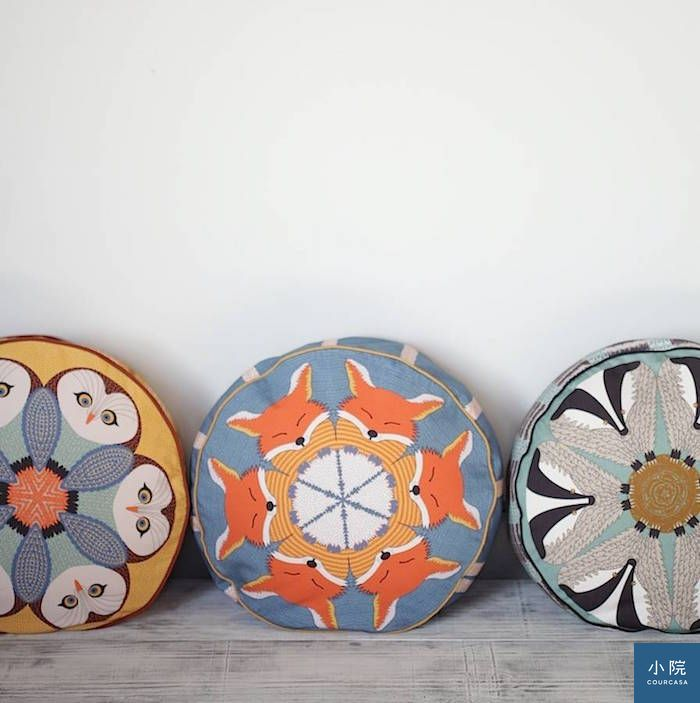 original_set-of-three-pouffes-fox-badger-and-owl