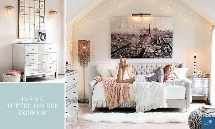 夢幻女孩的臥室可能長這樣~