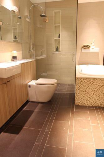 北京拍得,淋浴拉門,地板特別設計